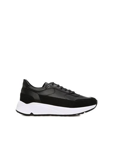 Divarese 5025049 Garnili Erkek Sneaker Siyah